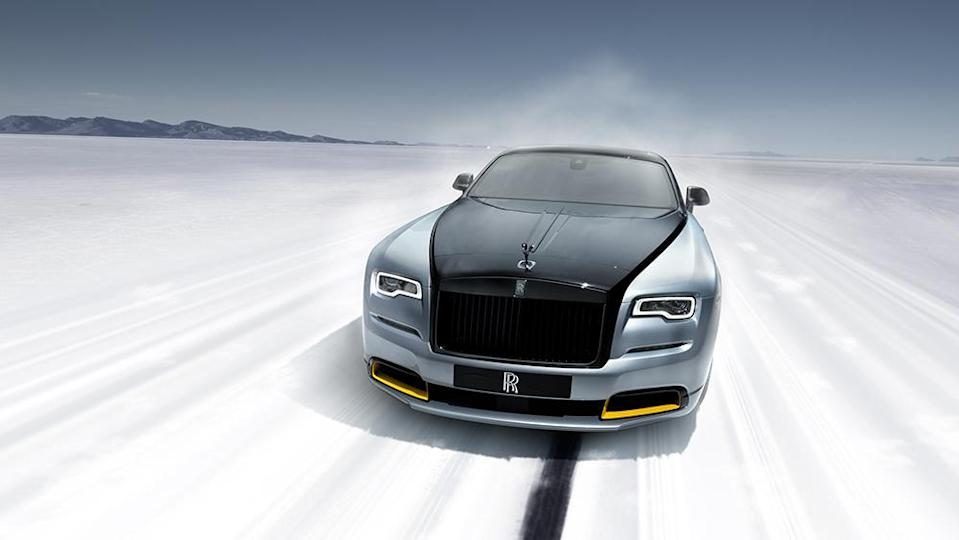 The limited-edition Wraith. - Credit: Rolls-Royce