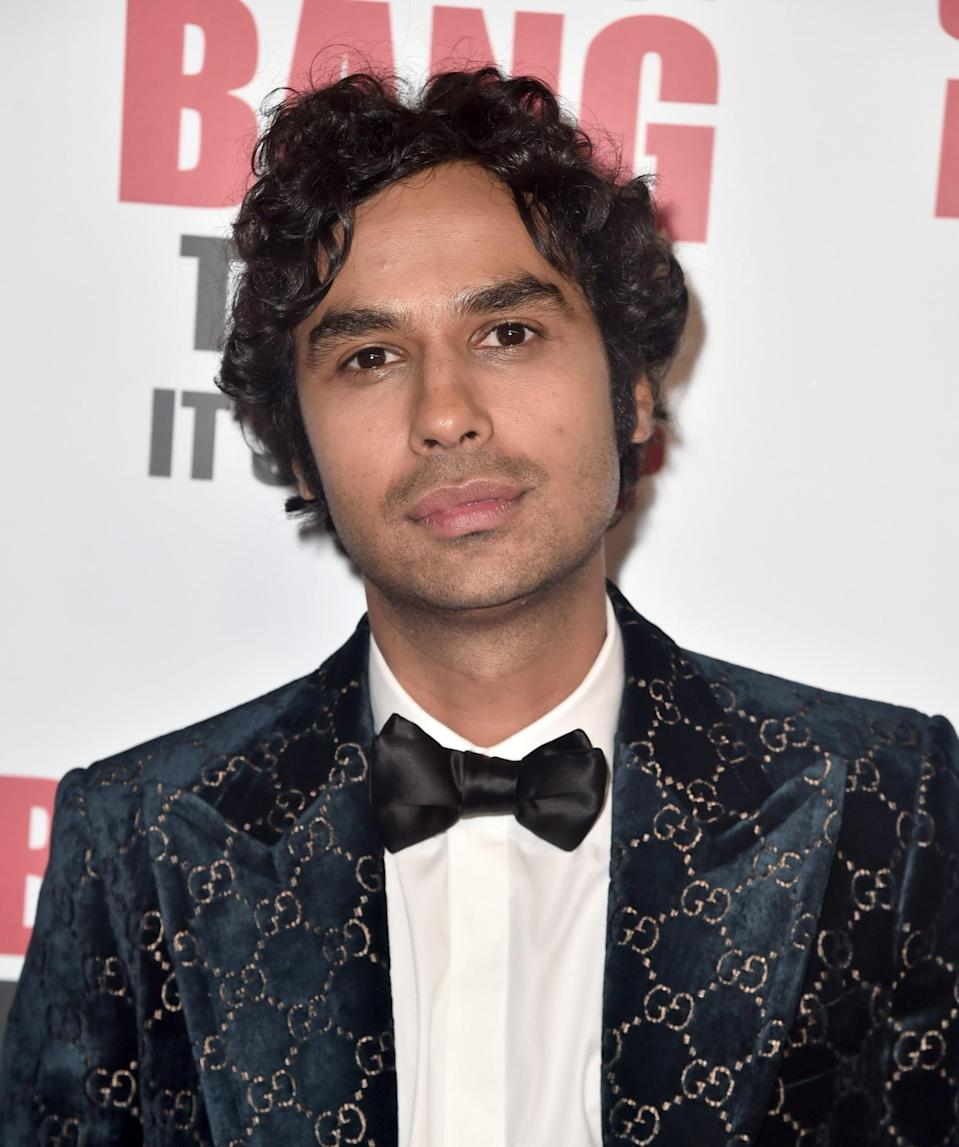 """<p>While Kunal Nayyar - aka astrophysicist Raj Koothrappali - has the family-friendly movie <strong><a href=""""http://www.hollywoodreporter.com/news/cannes-janet-montgomery-julia-jones-kunal-nayyar-join-think-like-a-dog-1110082"""" rel=""""nofollow noopener"""" target=""""_blank"""" data-ylk=""""slk:Think Like a Dog"""" class=""""link rapid-noclick-resp"""">Think Like a Dog</a></strong> in post-production and <strong><a href=""""https://www.popsugar.com/family/Trolls-World-Tour-Trailer-46296633"""" rel=""""nofollow noopener"""" target=""""_blank"""" data-ylk=""""slk:Trolls World Tour"""" class=""""link rapid-noclick-resp"""">Trolls World Tour</a> </strong>(in which he voices Guy Diamond) in pre-production, his biggest plan post-TBBT is <a href=""""http://parade.com/874581/paulettecohn/the-big-bang-theorys-kunal-nayyar-on-rajs-romance-what-hes-taking-from-the-set-and-whats-next/"""" rel=""""nofollow noopener"""" target=""""_blank"""" data-ylk=""""slk:getting in some much-needed family time"""" class=""""link rapid-noclick-resp"""">getting in some much-needed family time</a>. """"I'm going to go to India, spend more time with my parents,"""" he told <strong>Parade </strong>in late April. """"I left my country when I was 18, so it's important for me to go home and spend time with mom and dad, so that's the main focus right now."""" </p>"""