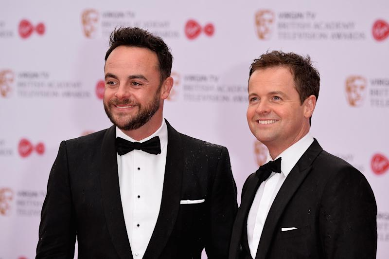 Together again: Ant is returning to I'm A Celeb (Jeff Spicer/Getty Images)