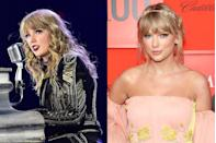 <p>Taylor's look for her <em>Reputation </em>tour was dark and dramatic, including her makeup. But she just released new music and with it a new look that's light, bright, and the definition of happiness.</p>