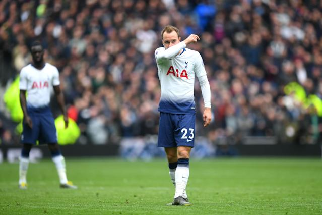 Spurs lose for the first time at the Tottenham Hotspur Stadium (Photo by Michael Regan/Getty Images)