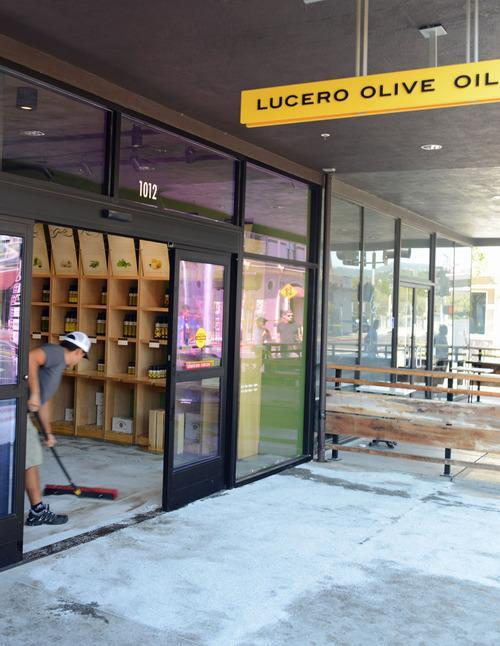 napa earthquake olive oil slick