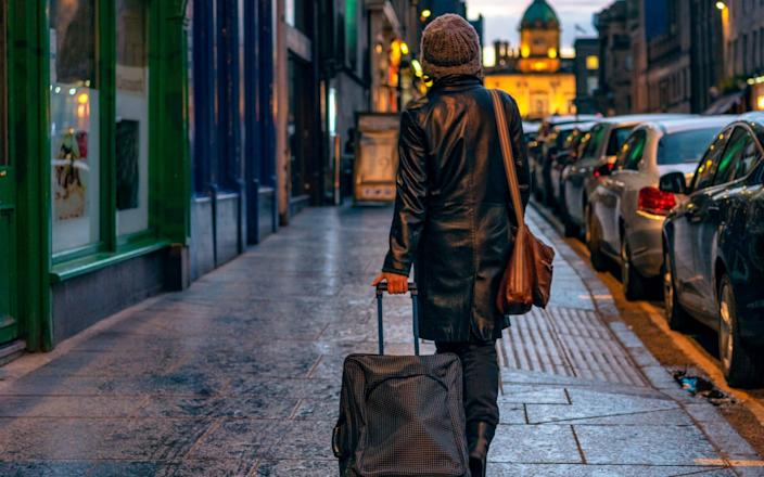 Scotland's hotels have reported low occupancy rates, especially in cities - georgeclerk/E+