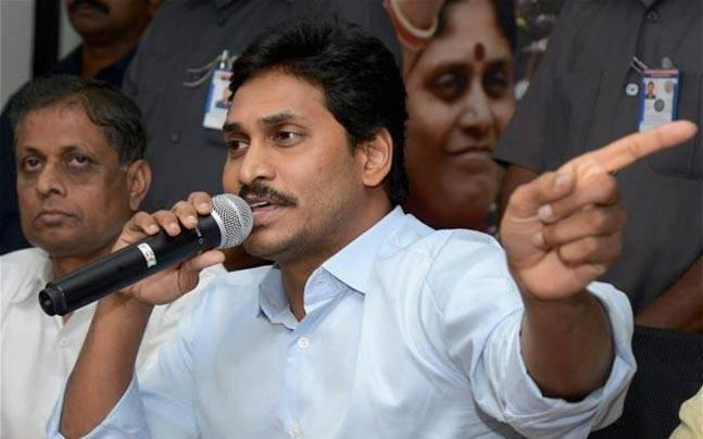 """<p>Earlier this month, Y S Jagan Mohan Reddy said there's """"nothing wrong"""" if Andhra Pradesh  Chief Minister Chandrababu Naidu """"is shot dead on the road for not  fulfilling election promises.""""</p>"""