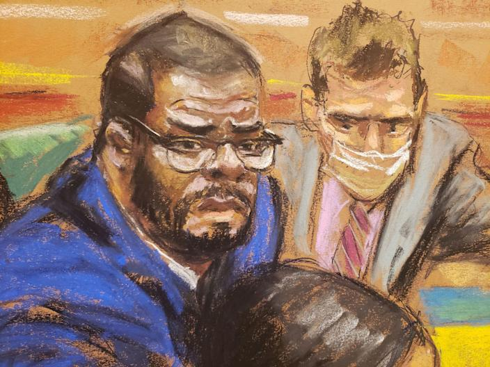 """The first man to accuse R. Kelly of sexual abuse testifies that the singer asked him what he was """"ready to do for the music"""""""