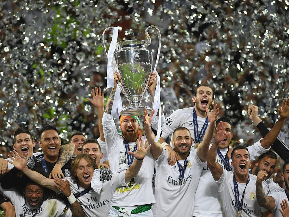 Real Madrid are the most successful club in Europe with 11 titles to their name: Getty