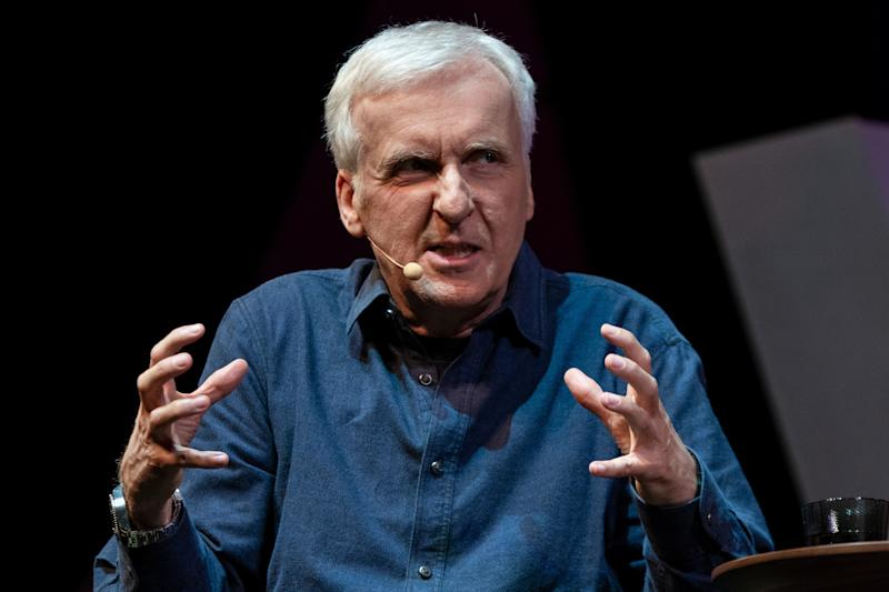 SYDNEY, NSW - MAY 27: Multi Academy Award winning director James Cameron at The Game Changer conference for Vivid Sydney on May 27, 2018, at The City Recital Hall in Sydney, Australia. (Photo by Speed Media/ Icon Sportswire)