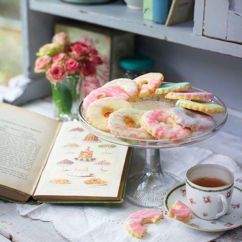 """<p>Just the thing to serve at a birthday or tea party.<br><br><strong>Recipe:</strong> <a href=""""https://www.goodhousekeeping.com/uk/food/recipes/iced-rings-biscuits?click=main_sr"""" rel=""""nofollow noopener"""" target=""""_blank"""" data-ylk=""""slk:Iced rings"""" class=""""link rapid-noclick-resp"""">Iced rings</a><br> </p>"""