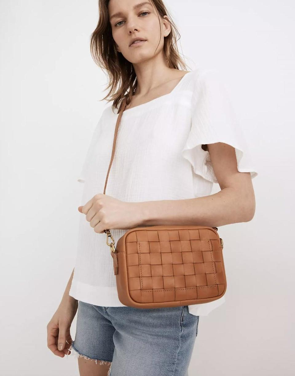 <p>Trust us, you'll use this <span>Madewell Transport Camera Bag</span> ($148) all the time.</p>