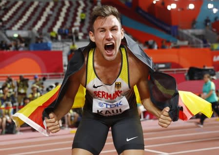 Athletics-Germany's Kaul wins thrilling decathlon battle