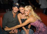 """<p>Nicky and the money manager wed in a Las Vegas ceremony at 2:30 a.m. one August night in 2004. """"They were planning on getting married this fall, but while in Las Vegas, they felt there'd be less attention if they did it there,"""" Nicky's spokesperson <a href=""""http://people.com/premium/nickys-vegas-surprise/"""" rel=""""nofollow noopener"""" target=""""_blank"""" data-ylk=""""slk:told People"""" class=""""link rapid-noclick-resp"""">told <em>People</em></a>. """"They also felt it would be more intimate. And it was. This was not a spontaneous decision. Todd had actually proposed several weeks earlier."""" Nevertheless, they <a href=""""http://people.com/celebrity/nicky-hilton-gets-marriage-annulled/"""" rel=""""nofollow noopener"""" target=""""_blank"""" data-ylk=""""slk:annulled the marriage"""" class=""""link rapid-noclick-resp"""">annulled the marriage</a> three months later.</p>"""