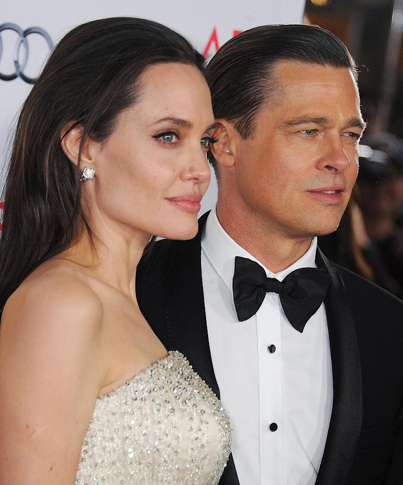 Here's Brad Pitt and A...