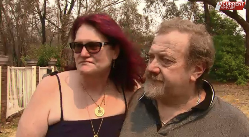 Pictured is Sharon Jackson and her husband Steve.