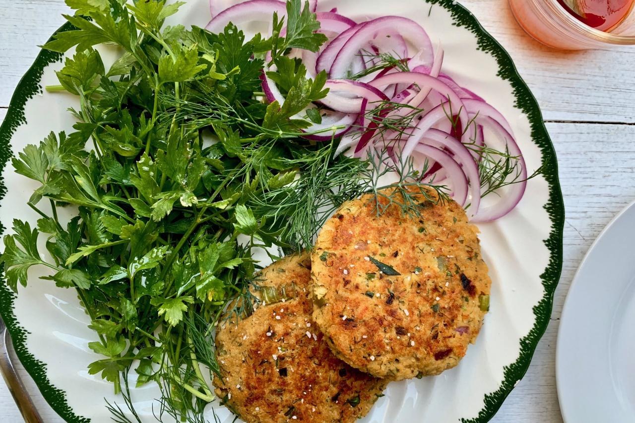 """<p>A few ingredients from your pantry and fridge are all you need to whip up an impressive salmon cake that can be served with salads or placed atop a toasted bun. Canned salmon may not be synonymous with high-end fare, but with the right flavor combinations and cooking method, you can transform this grocery store staple into a delicious dish.</p> <ul><li><strong>Recipe:</strong> <a href=""""https://www.coastalliving.com/recipe/salmon-cakes"""" target=""""_blank"""">Salmon Cakes</a></li> </ul>"""