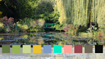 """<p>Claude Monet's iconic garden — a Japanese-inspired water space — is famous for its mesmerising pond and serene lilies. </p><p>""""When designing the garden, he is said to have not liked the organisation of constrained gardens, instead of arranging flowers according to their colours and letting them grow freely,"""" say Roofing Megastore. </p>"""