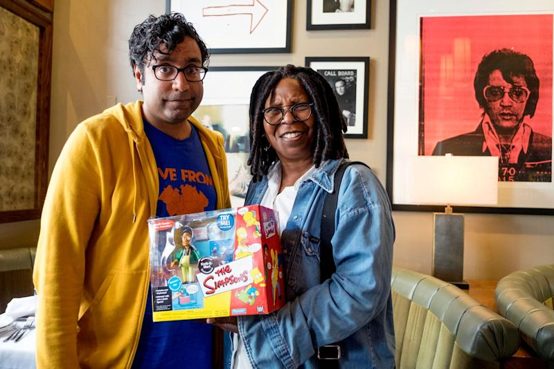 Hari Kondabolu also spoke wth actress Whoopi Goldberg about Hollywood's use of caricatures and blackface to portray people of color.