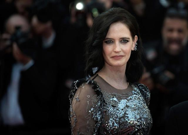 Eva Green walks the red carpet at the 2017 Cannes Film Festival. (Photo: Antony Jones/Getty Images)