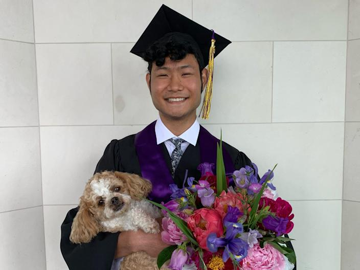"Trey Tamaki graduated from the University of Washington with a bachelor's degree in computer science in 2020. <p class=""copyright"">Trey Tamaki</p>"