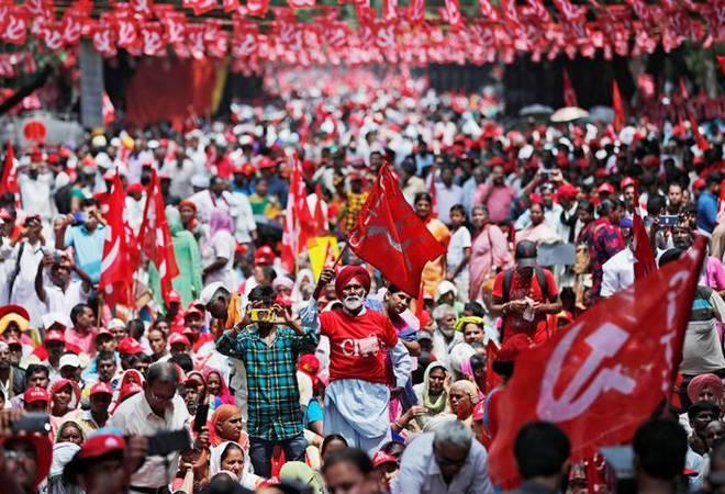 Bharat bandh: The trade unions will also take part in 'rail and rasta roko' protests to demand the fulfilment of a 12-point charter, which includes minimum monthly salary of up to Rs 18,000, social security provisions, among others.