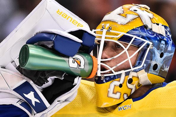 Jacob Markstrom Shines In Goal For Sweden Over Russia