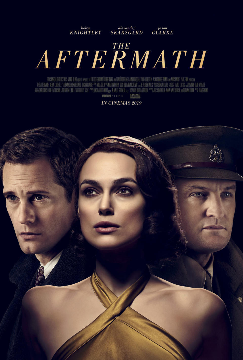 The Aftermath stars Keira Knightley, Alexander Skarsgard and Jason Clarke