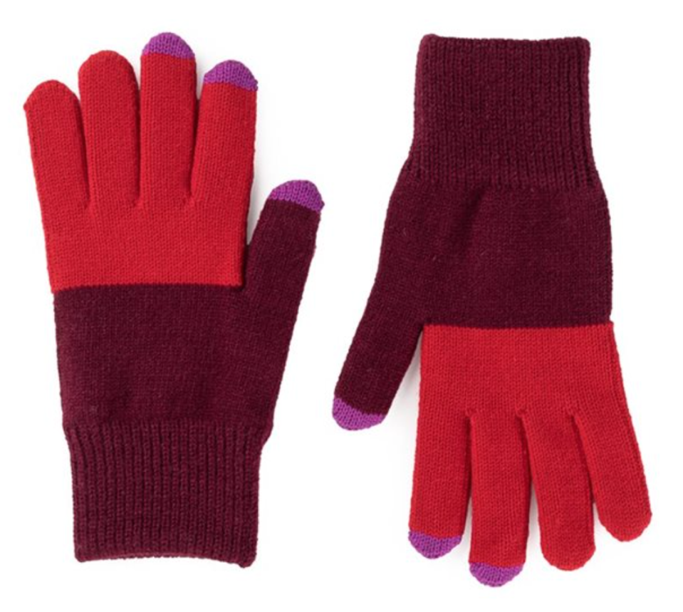 Verloop Classic Touchscreen Gloves in Wine Red