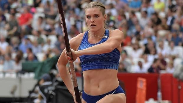 Pole vaulter Alysha Newman says she's happier on the runway these days and not ruling out the possibility of setting another Canadian indoor record of 4.85 or 4.90 metres in the coming weeks.