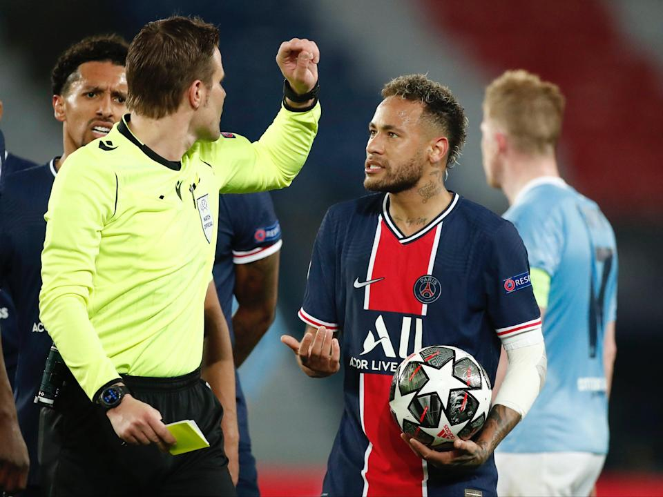 Neymar was unable to influence the outcome of the first legREUTERS