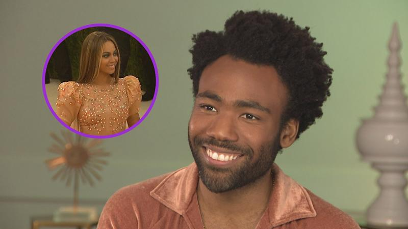 Donald Glover Says Working With Beyonce on 'Lion King' Remake Is 'A Little Intimidating' (Exclusive)