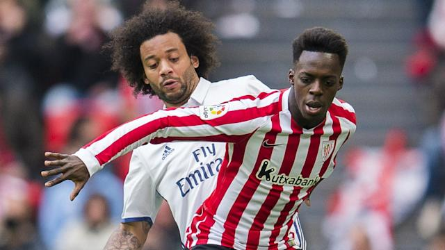 Inaki Williams Marcelo Athletic Bilbao Real Madrid La Liga