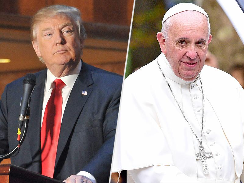 """a reflection on pope francis comments on donald trumps plan to build a wall on the mexican border Pope on trump: anyone who wants border walls pope francis said thursday that donald trump is """"not christian"""" if he intends to build a wall along the us."""
