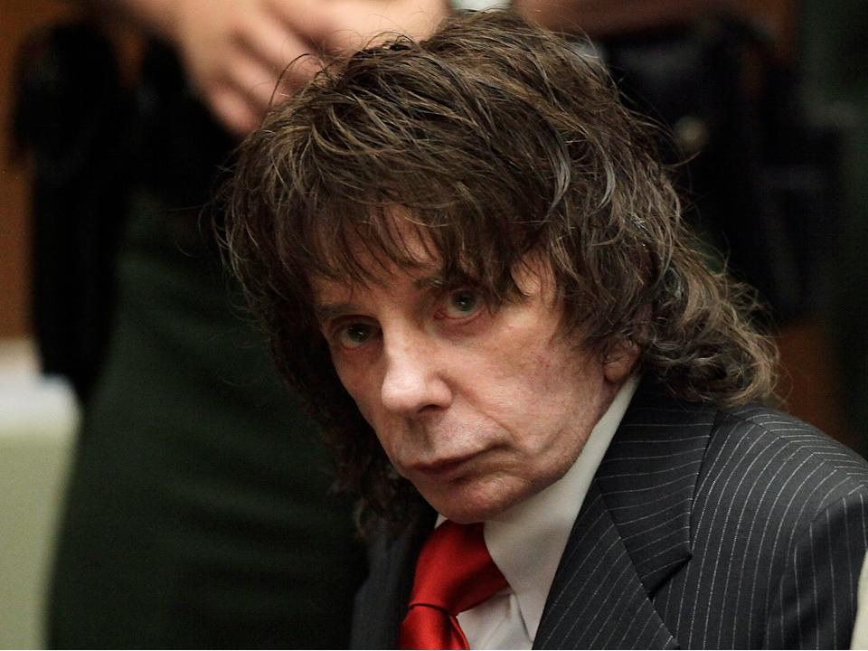 """The BBC has apologised after describing convicted murder Phil Spector as """"talented but flawed"""" (AP)"""