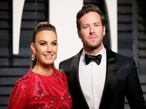 Elizabeth Chambers and Armie Hammer