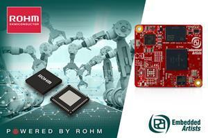 ROHM's PMIC Powers NXP iMX8M Nano for High Performance Embedded Artists Industrial Control Board