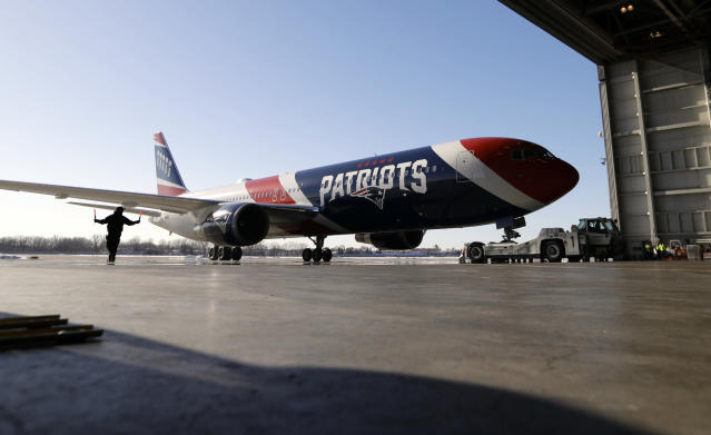Navy football got a helping hand from the Patriots. (AP Photo/Eric Gay)