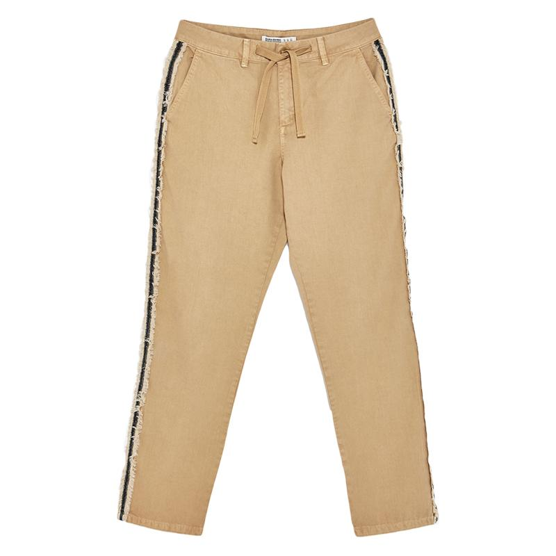 """<a rel=""""nofollow"""" href=""""https://www.zara.com/us/en/woman/trousers/view-all/trousers-with-side-bands-c719022p4450049.html"""">Trousers With Side Bands, Zara, $40</a>"""