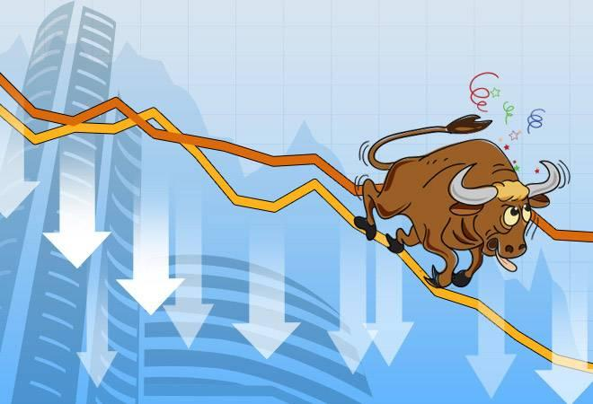 While the Sensex fell 505 points or 1.33% to 37,585 level, the Nifty lost 137 points or 1.19% to 11,377 level. Subdued  Asian and European markets due to escalating trade war between the US  and China mainly led to a caution on domestic bourses, brokers said.