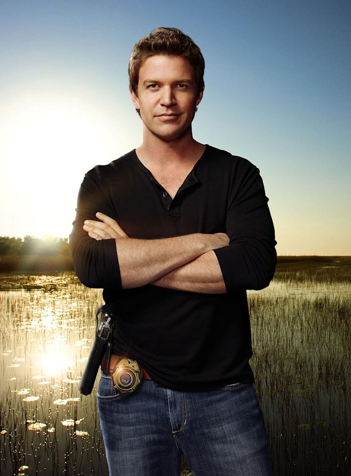 "Matt Passmore as Jim Longworth in ""The Glades."""
