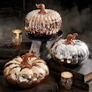 """<p>grandinroad.com</p><p><a href=""""https://go.redirectingat.com?id=74968X1596630&url=https%3A%2F%2Fwww.grandinroad.com%2Fhigh-shine-metallic-pumpkins%2Fhalloween-haven%2Fnewest-additions%2F1471629&sref=https%3A%2F%2Fwww.bestproducts.com%2Flifestyle%2Fg36981907%2Fgrandin-road-halloween-decorations%2F"""" rel=""""nofollow noopener"""" target=""""_blank"""" data-ylk=""""slk:Shop Now"""" class=""""link rapid-noclick-resp"""">Shop Now</a></p><p>Classic orange pumpkins are great, but why not change it up? These metallic pumpkins come in copper, gold, and silver options that will add a special touch to your fall décor.</p>"""