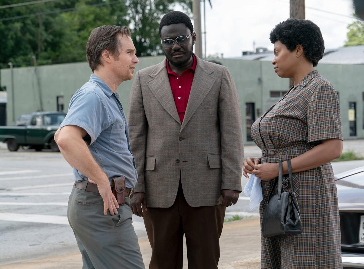 <p>Taraji P. Henson and Sam Rockwell star in <strong>The Best of Enemies</strong>, a film about the unlikely alliance that formed between black activist Ann Atwater and Ku Klux Klan member Claiborne Paul Ellis when they were both placed on a committee to oversee the desegregation of schools in Durham, NC in the 1960s. When the two were forced to work together, they discovered that they actually shared some of the same values, at least when it came to their children. </p> <p><strong>Release date:</strong> Apr. 5</p>