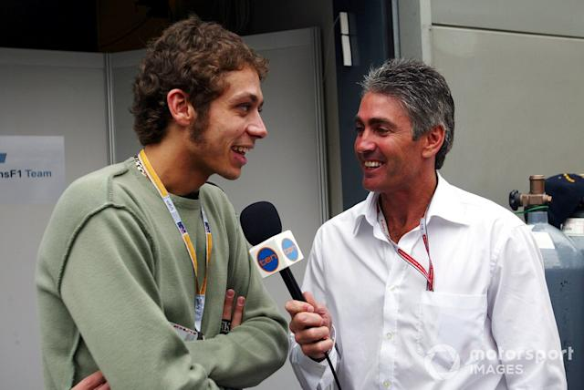 """Valentino Rossi und Mick Doohan <span class=""""copyright"""">Sutton Images</span>"""