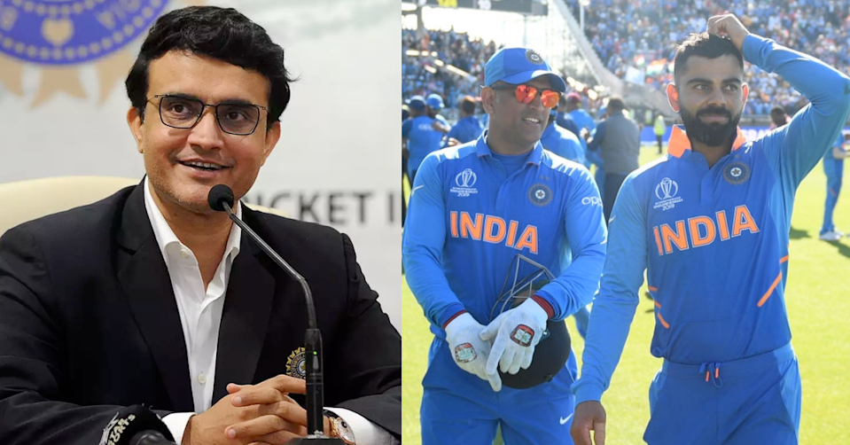 BCCI President Sourav Ganguly Thanks MS Dhoni For Accepting The Role Of Mentor For T20 World Cup 2021
