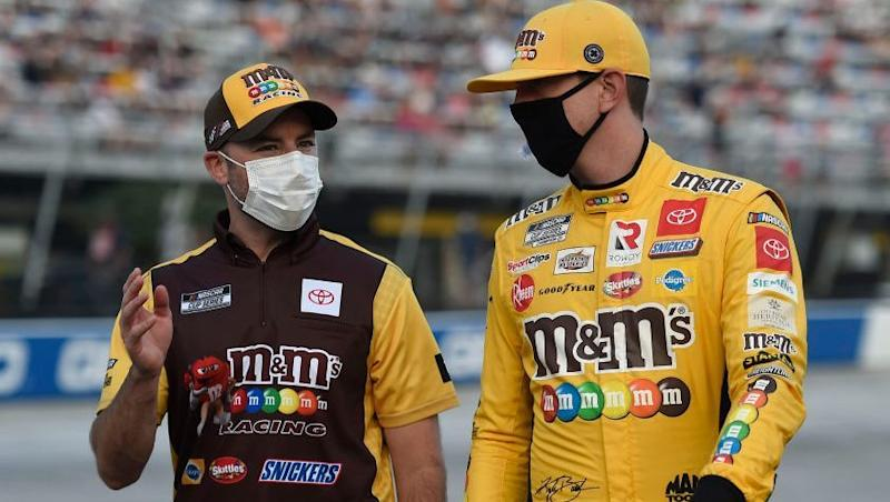 Kyle Busch faces challenging path to win back-to-back titles