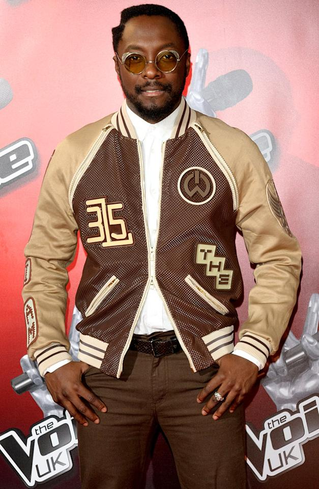 Will.i.am, of The Black Eyed Peas, turns 37 on March 15.
