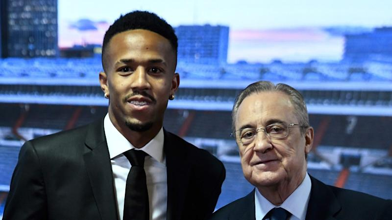 Militao suffers dizzy spell after Real Madrid unveiling