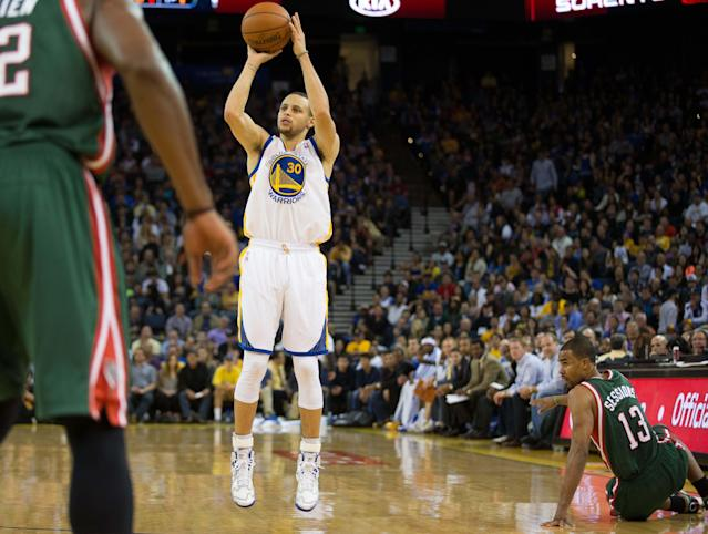 The 10-man rotation, starring the making of Stephen Curry's quicker-than-a-blink jumper