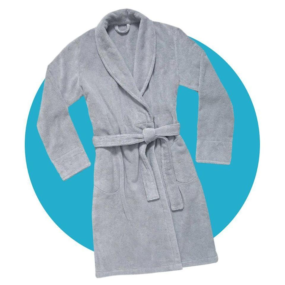 """<p><strong>Brooklinen</strong></p><p>brooklinen.com</p><p><strong>$98.00</strong></p><p><a href=""""https://go.redirectingat.com?id=74968X1596630&url=https%3A%2F%2Fwww.brooklinen.com%2Fproducts%2Fsuper-plush-robe&sref=https%3A%2F%2Fwww.bestproducts.com%2Flifestyle%2Fg34449251%2Fbest-of-the-best-2020%2F"""" rel=""""nofollow noopener"""" target=""""_blank"""" data-ylk=""""slk:Shop Now"""" class=""""link rapid-noclick-resp"""">Shop Now</a></p><p>This luxurious <a href=""""https://www.bestproducts.com/lifestyle/a31249897/brooklinen-super-plush-robe-review/"""" rel=""""nofollow noopener"""" target=""""_blank"""" data-ylk=""""slk:Turkish cotton terry robe"""" class=""""link rapid-noclick-resp"""">Turkish cotton terry robe</a> is an essential for any comfortable night in. Its snuggly, sweater-like feel is ideal for lounging, while its hefty 380 GSM offers just as much moisture-wicking absorbency as your favorite towel.</p>"""