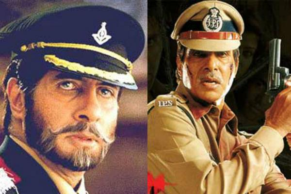 <b>4. Amitabh Bachchan/ Major Saab</b><br><br>Amitabh Bachchan has played the uniformed officer many a times in his career. However, his get-up in 'Major Saab' was unbeatable owing to his strict conformity to army disciplinarians.