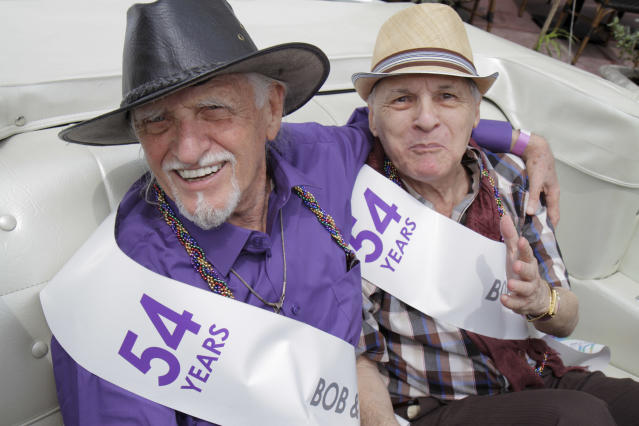 LGBT folks can face more isolation and discrimination as they age. (Photo: Jeff Greenberg/UIG via Getty Images)