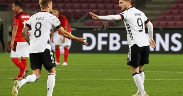 Foot - L. nations - Ligue des nations : l'Allemagne arrache le nul contre la Suisse